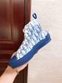 B23 HIGH-TOP SNEAKER IN BLUE      OBLIQUE      SNEAKER      MEN SHOES  3
