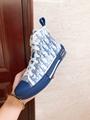 B23 HIGH-TOP SNEAKER IN BLUE      OBLIQUE      SNEAKER      MEN SHOES  5