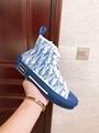 B23 HIGH-TOP SNEAKER IN BLUE      OBLIQUE      SNEAKER      MEN SHOES  6