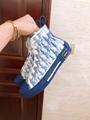 B23 HIGH-TOP SNEAKER IN BLUE      OBLIQUE      SNEAKER      MEN SHOES  2