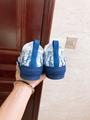 B23 LOW-TOP SNEAKER IN BLUE      OBLIQUE      SNEAKER      SHOES  3