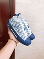 B23 LOW-TOP SNEAKER IN BLUE DIOR OBLIQUE DIOR SNEAKER DIOR SHOES  1