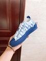 B23 LOW-TOP SNEAKER IN BLUE      OBLIQUE      SNEAKER      SHOES  7