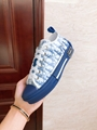 B23 LOW-TOP SNEAKER IN BLUE DIOR OBLIQUE DIOR SNEAKER DIOR SHOES  8