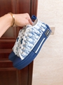 B23 LOW-TOP SNEAKER IN BLUE DIOR OBLIQUE DIOR SNEAKER DIOR SHOES  9