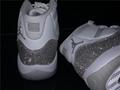 Wmns Nike Air Jordan 11 XI Retro 5-12 White Metallic Silver AR0715-100