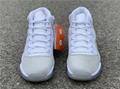 Wmns Nike Air Jordan 11 XI Retro 5-12 White Metallic Silver AR0715-100 8