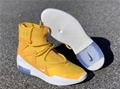 Nike Air Fear Of God 1 The Atmosphere Amarillo  New With Box AR4237 700