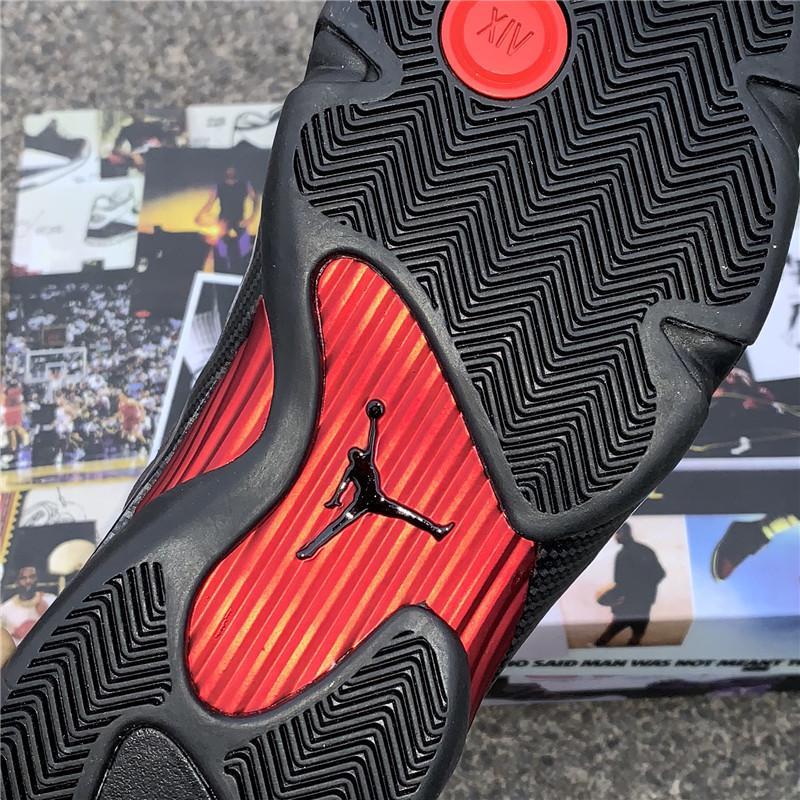 """Air Jordan 14 SE """"Black Ferrari"""" model number :BQ3685-001 4"""