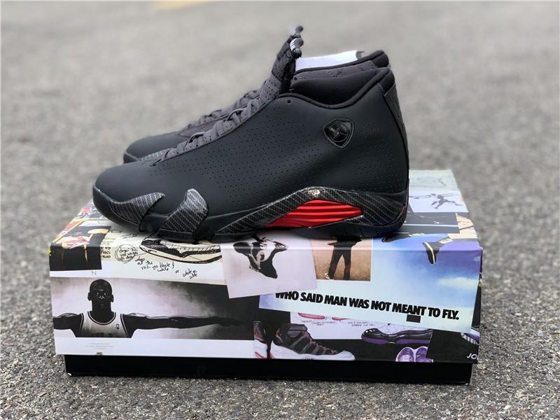 """Air Jordan 14 SE """"Black Ferrari"""" model number :BQ3685-001 5"""