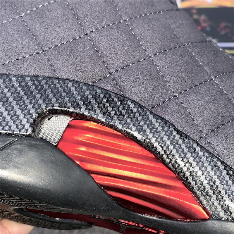 """Air Jordan 14 SE """"Black Ferrari"""" model number :BQ3685-001 12"""