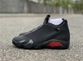 """Air Jordan 14 SE """"Black Ferrari"""" model number :BQ3685-001 1"""