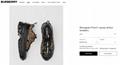Burberry  Monogram Print E-canvas Arthur Sneakers burberry sneaker