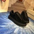 mcqueen oversized sneaker Black crystal rhinestone  mcqueen sneaker 2