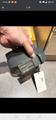 Fendi Gray leather belt 3.5cm width 7C0420SFRF0JGZ  fendi belt  2