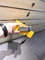 Fendi Gray leather belt 3.5cm width 7C0420SFRF0JGZ  fendi belt
