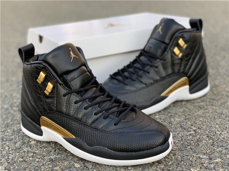 WMNS Air Jordan 12 Midnight Black AO6068-007 jordan sneaker  2