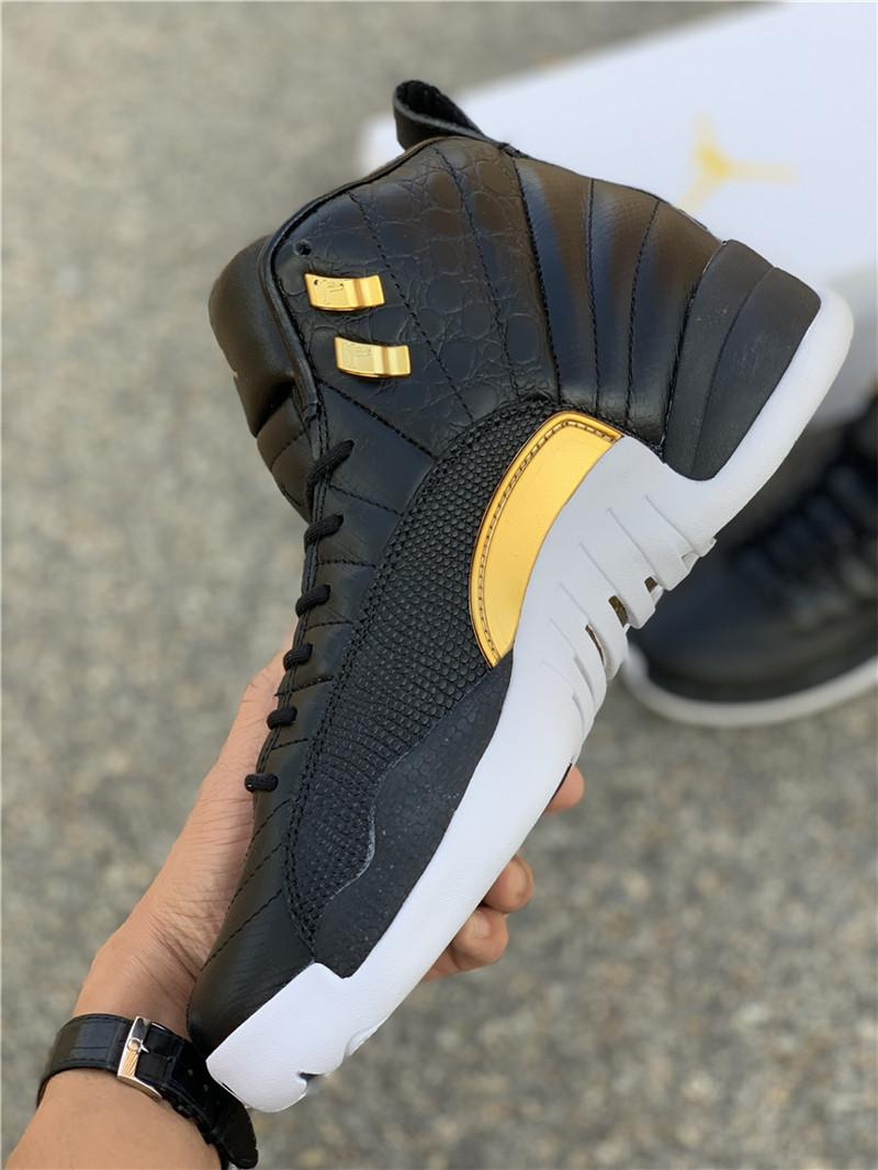 WMNS Air Jordan 12 Midnight Black AO6068-007 jordan sneaker  6