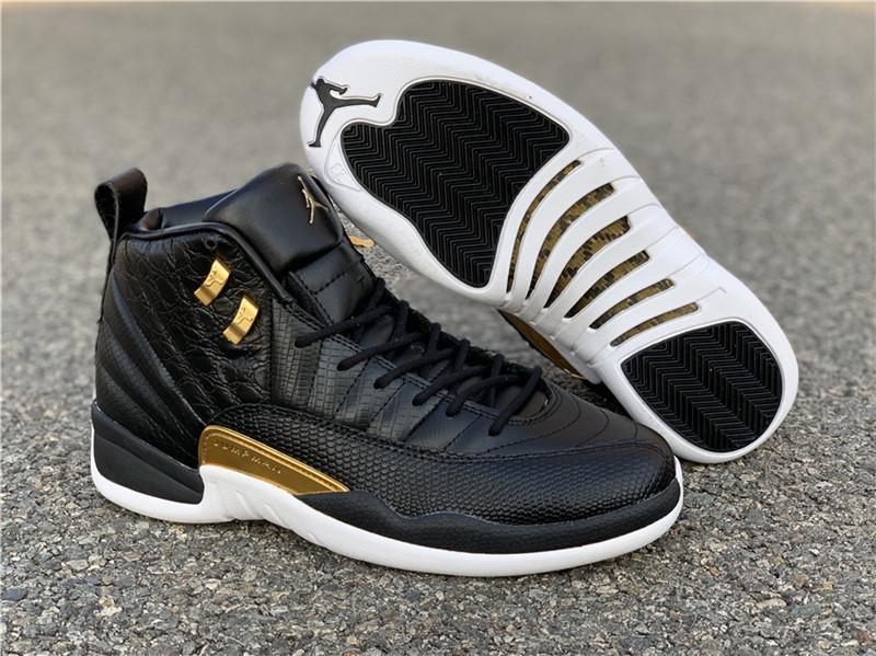 WMNS Air Jordan 12 Midnight Black AO6068-007 jordan sneaker  1