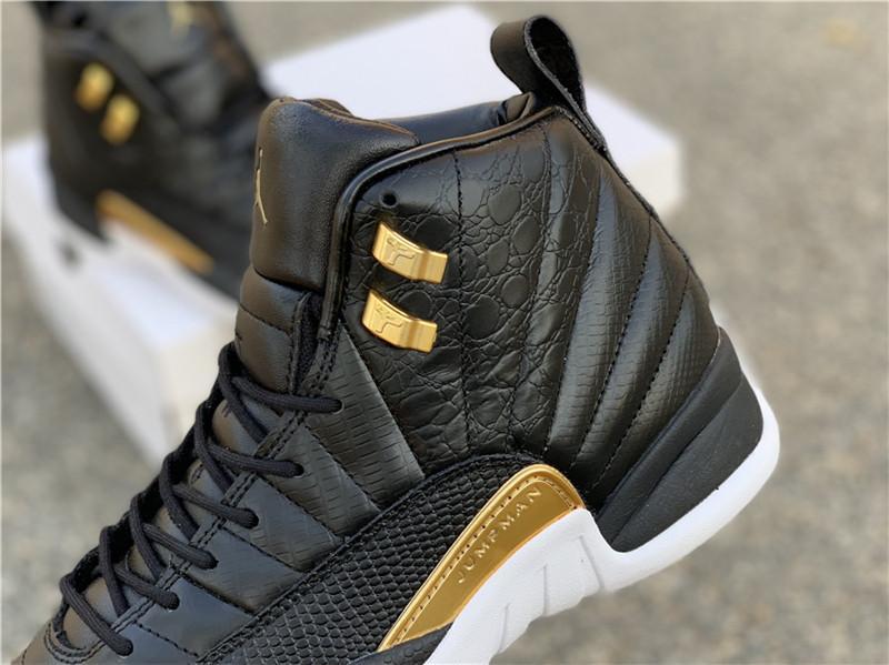 WMNS Air Jordan 12 Midnight Black AO6068-007 jordan sneaker  5