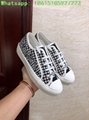 houndstooth sneaker in embroidered canvas      sneaker  6