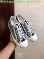 houndstooth sneaker in embroidered canvas      sneaker  10
