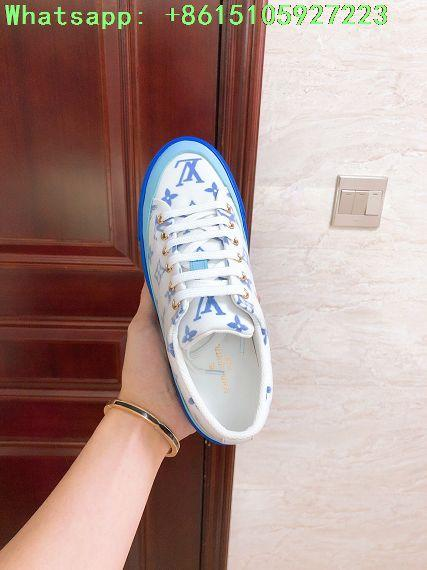 stellar sneaker blue    sneaker    women shoes  1A65TW Monogram print   3