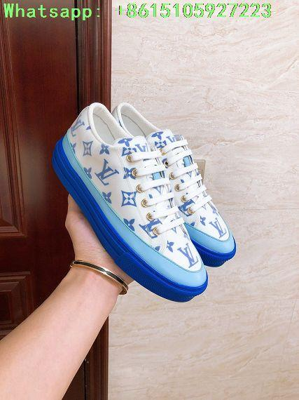 stellar sneaker blue    sneaker    women shoes  1A65TW Monogram print   10