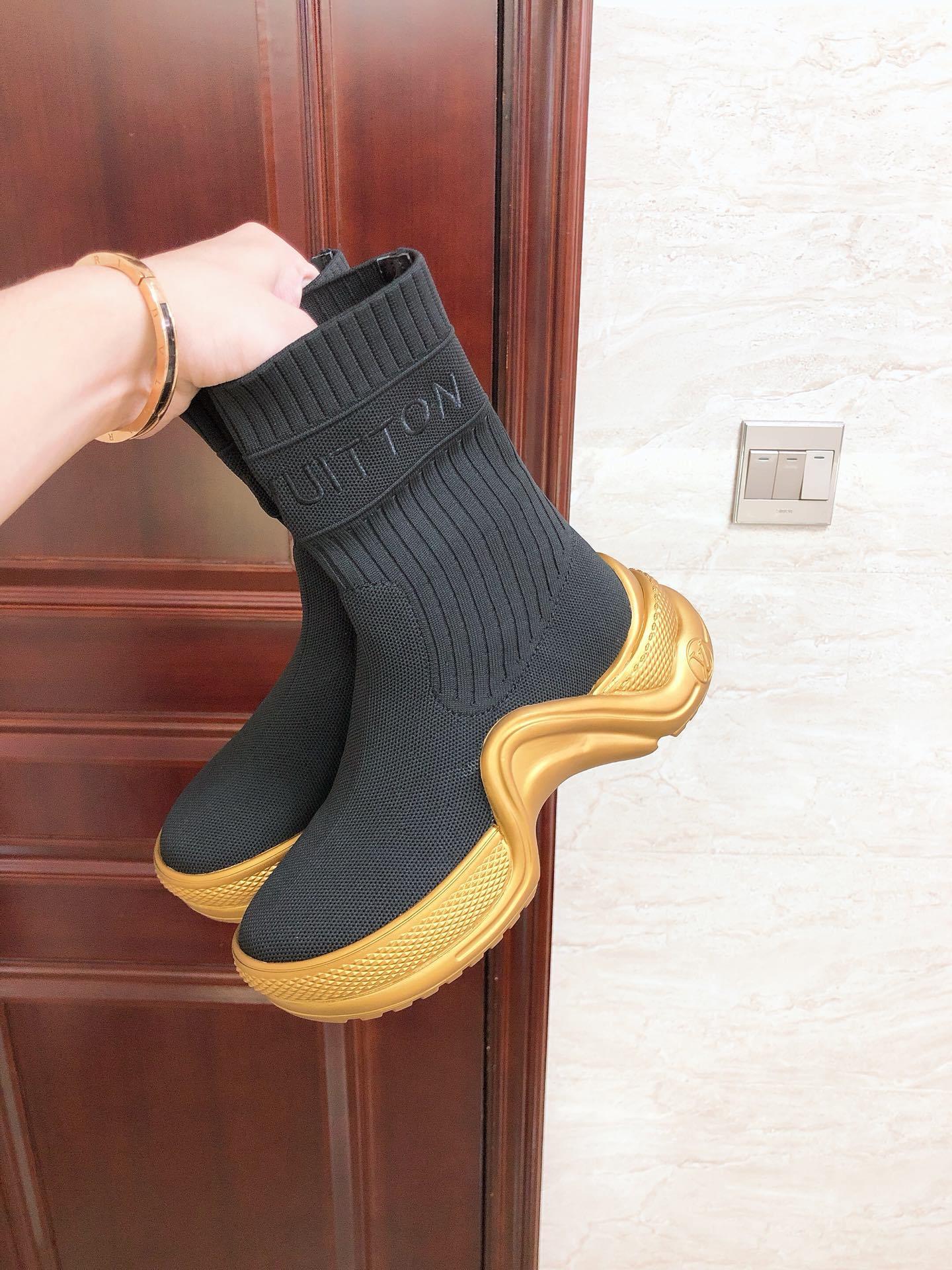 lv archlight sneaker boot 1A52LX lv women boot lv women sneaker lv shoes  10