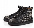 Christian louboutin louis 1c1s flat high