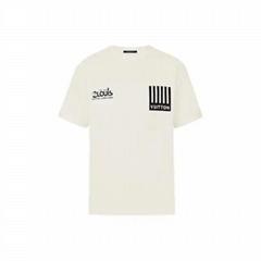 Louis vuitton multi logos monogram flowers printed T-shirt lv tshirt white