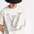 Lv planes printed tshirt