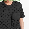 Lv hook and loop monogram short sleeve t-shirt