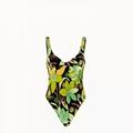 one-piece swimsuit Multicolor chenille