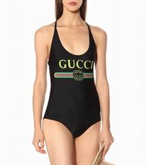 Gucci Sparkling swimsuit with Gucci logo black gucci swimsuit gucci bikini