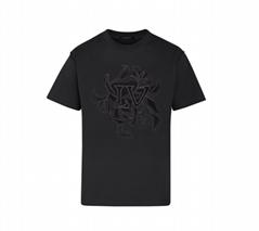 vegetal lace embroidery t-shirt    tshirt    men tshirt 1A7QFQ