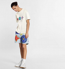 Newest lv multicolor monogram printed t-shirt lv tshirt 1A7WIE lv men tshirt
