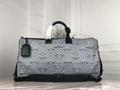 LV REVERSIBLE KEEPALL BANDOULIÈRE 50 M44939 Virgil Abloh lv duffel bags