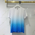 white-and-blue-gradient jersey t-shirt