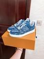 trainer sneaker Blue Monogram denim    sneaker    shoes 1A7S51 3