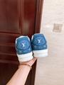 trainer sneaker Blue Monogram denim    sneaker    shoes 1A7S51 7