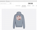 OVERSIZED SWEATSHIRT WITH 3D ERODED DIOR