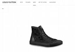 tattoo sneaker 1A5S1V    sneaker    shoes    men shoes black monogram