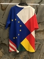 lv flags patchwork printed tee tshirt lv tshirt newest 1A5PCG