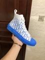 Dior B23 HIGH-TOP SNEAKER Gradient Blue Dior Oblique Canvas dior shoe