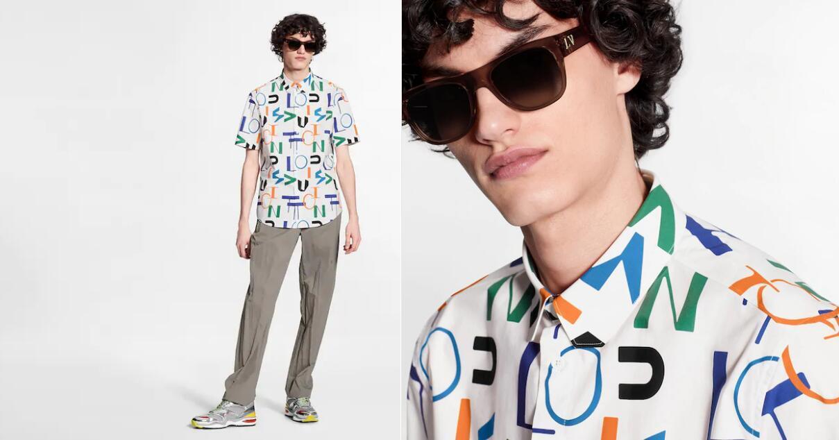 electric regular dna short-sleeved shirt    shirt  1