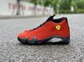 Air Jordan 14  Ferrari 654459-670 air