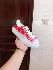 lv escale time out sneaker red lv sneaker lv women shoes lv shoes 1A7ULR