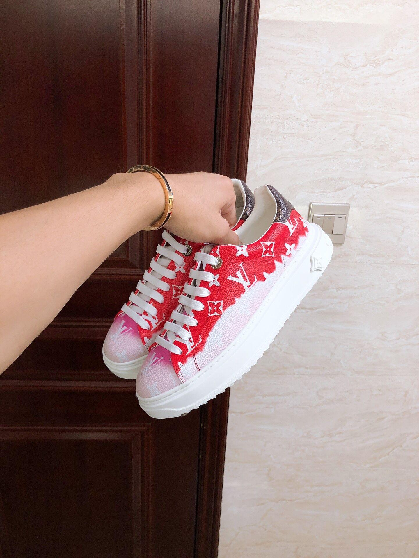 escale time out sneaker red    sneaker    women shoes    shoes 1A7ULR 4
