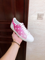 lv frontrow sneaker lv sneaker lv women shoes lv pink  shoes 1A87CE